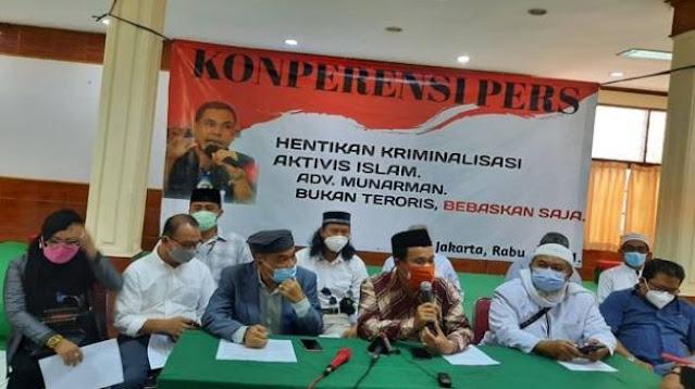 Desak Munarman Dibebaskan, Sahabat Munarman: Hapus Kriminalisasi dan Ter0risisasi
