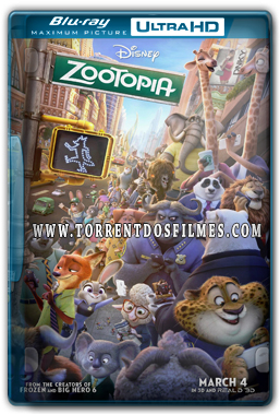 Zootopia (2016) Torrent – BluRay REMUX 1080p Áudio 7.1