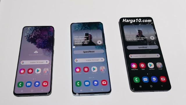 Daftar Harga HP Samsung Galaxy S20, S20+, dan S20 Ultra