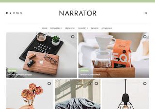 Narrator-Blogger-Template