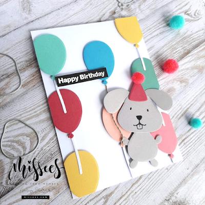 Missees Pets By Karin Joan - Happy Birthday