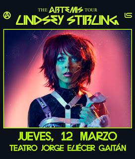 Concierto de Lindsey Stirling en Colombia 2020