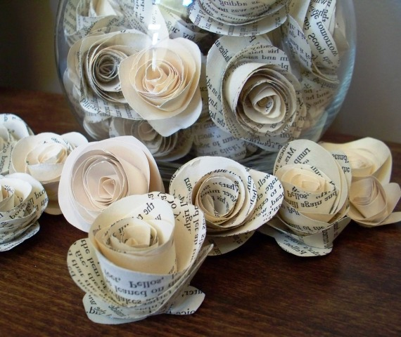 Pictures Of Flowers Made From Paper