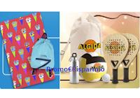 Logo Concorso ''Happy Days Algida'' terza fase: vinci 375 Set Mare (sacca e telo) e non solo