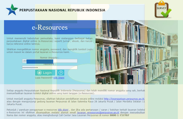 Laman Login Perpustakaan Nasional Republik Indonesia - udibaracom