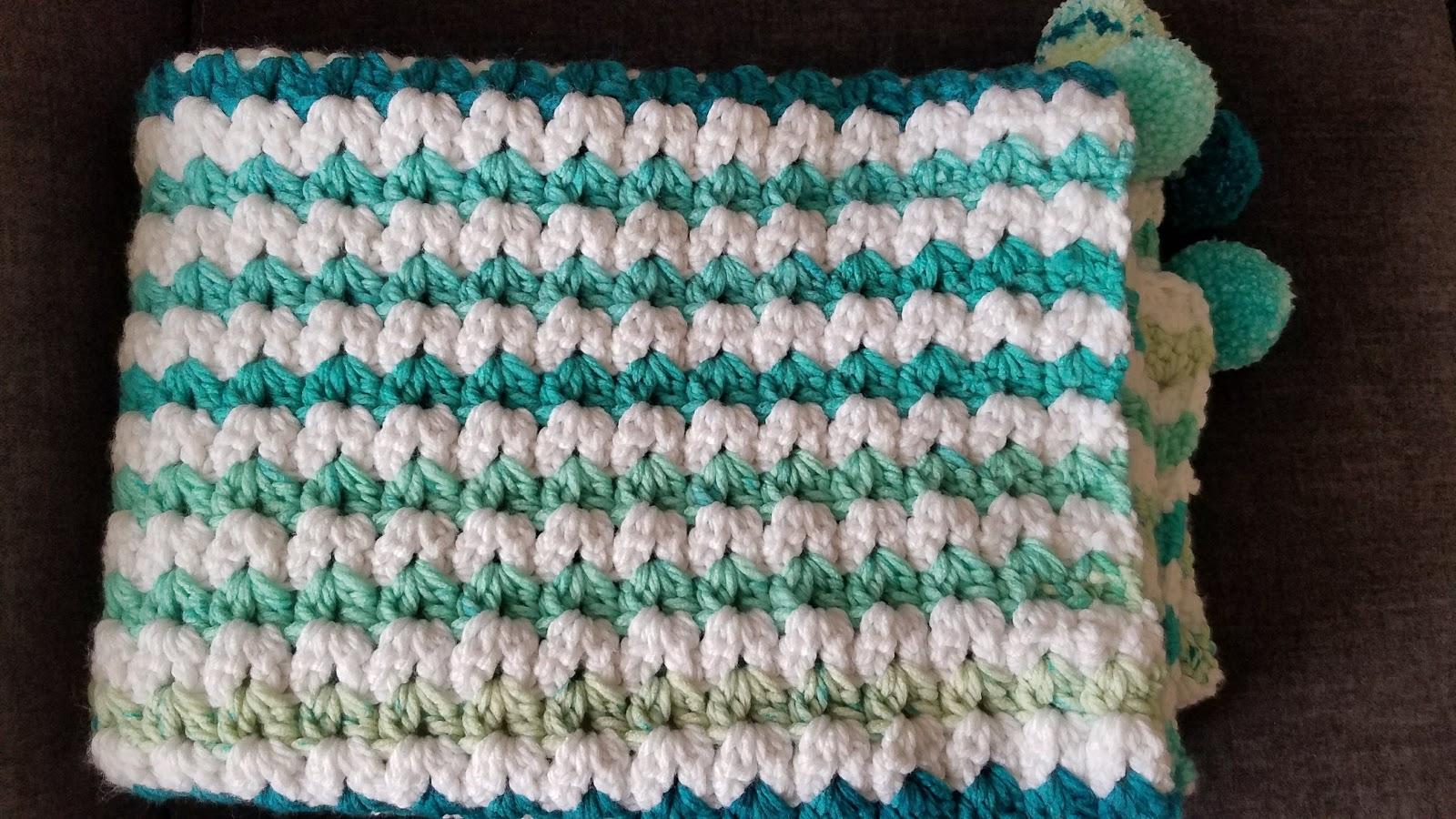 Crochet from J: Caron Chunky Cakes Blankets