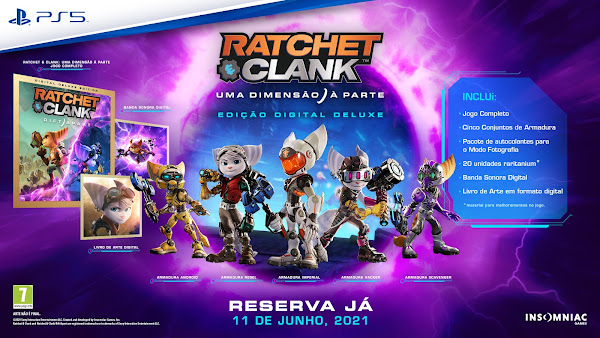 State of Play dedicado a Ratchet & Clank: Uma Dimensão À Parte mostra 15 minutos inéditos de gameplay
