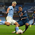 The Incredible Moment Arsenal's Gabriel Magalhaes Ran On His Knees And Tackled Sergio Aguero