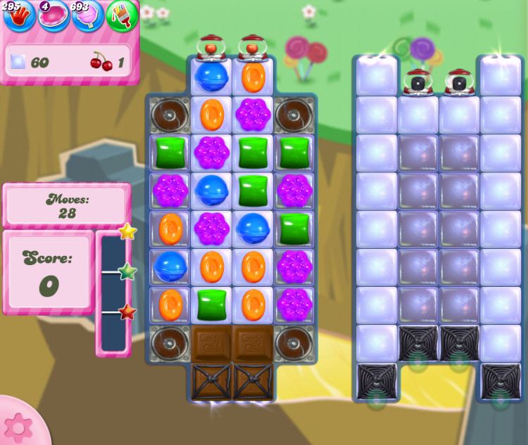 Candy Crush Saga level 2844