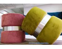 Divani Orfeo : vinci gratis un elegante Pouf colore a tua scelta