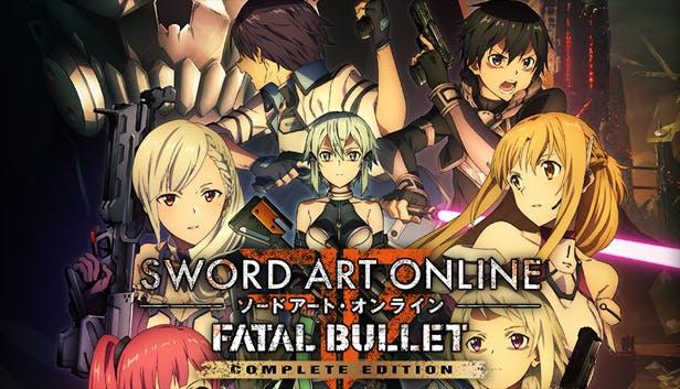 Sword Art Online: Fatal Bullet Complete Edition llegará en agosto a las Switch