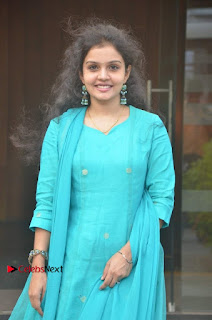 Tamil Actress Preethi Stills in Green Salwar Kameez at Kuzhalosai 2nd Anniversary Fund Raising Event  0029.jpg