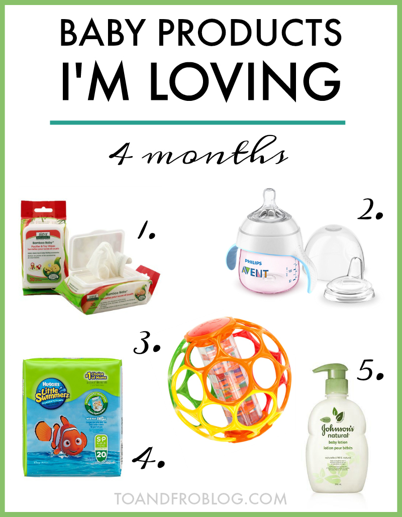 Baby Products I'm Loving Lately