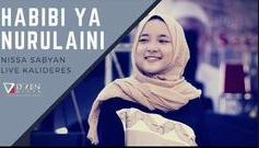 Nissa Sabyan Habibi Ya Nurul Aini