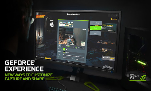 Menampilkan FPS di PC NVIDIA Geforce Experience