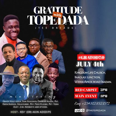 Tope Dada Live in Concert !! GRATOD 2021