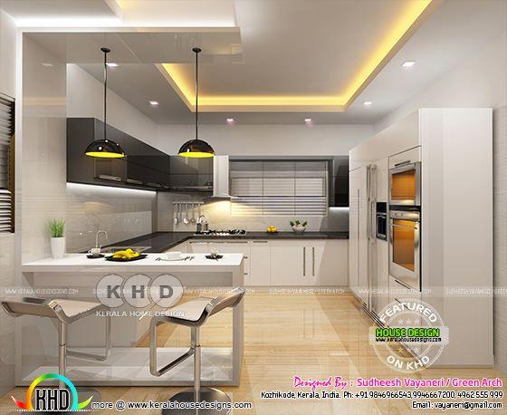 Kitchen interior design 1