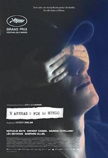 """Poster do filme """"É Apenas o Fim do Mundo"""""""