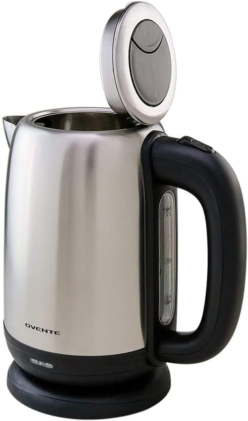 Ovente KS27S Electric Hot Water Stainless Steel Kettle