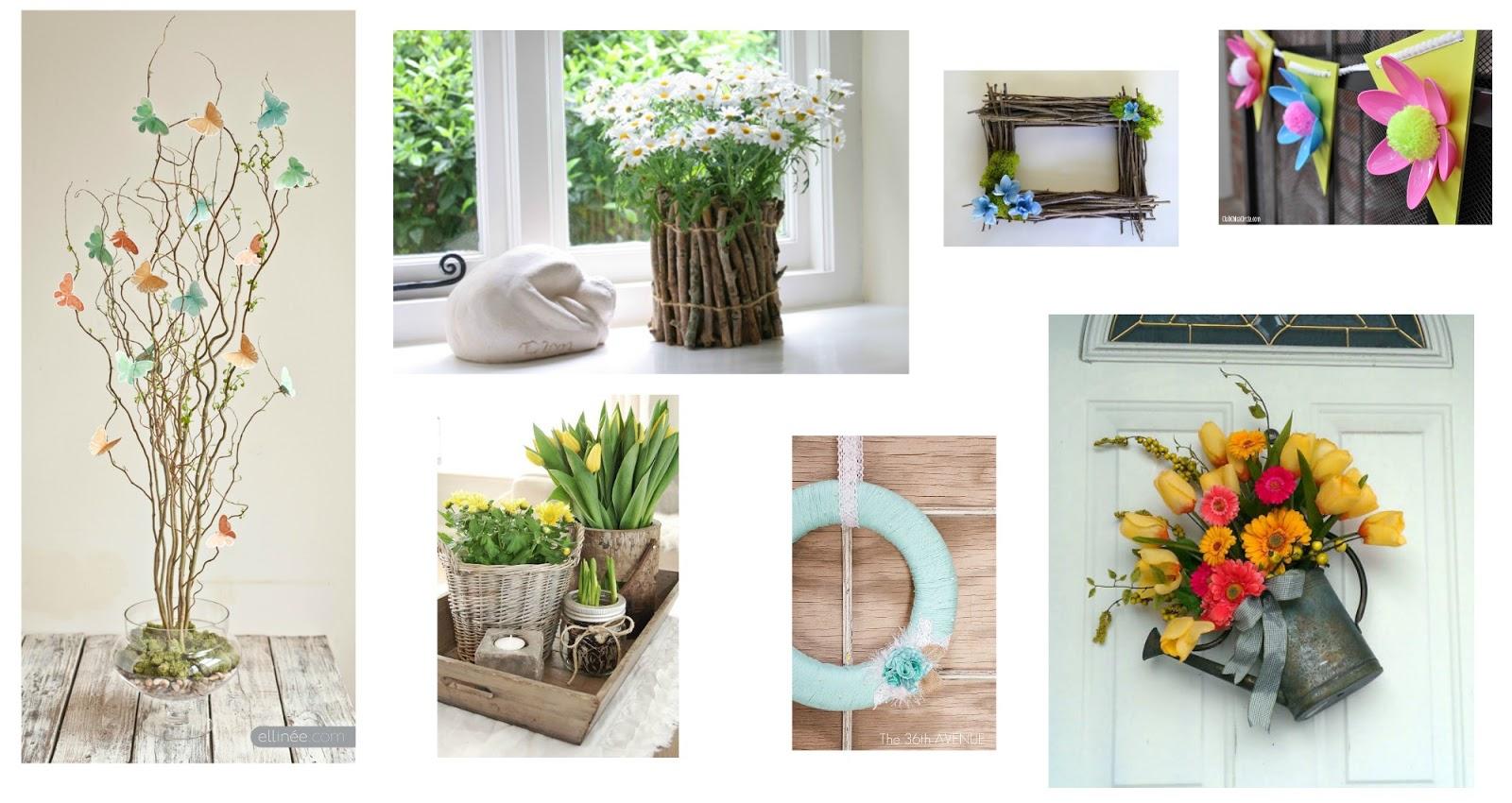 7 idee primaverili fai da te per decorare casa col riciclo for Idee fai da te per la casa