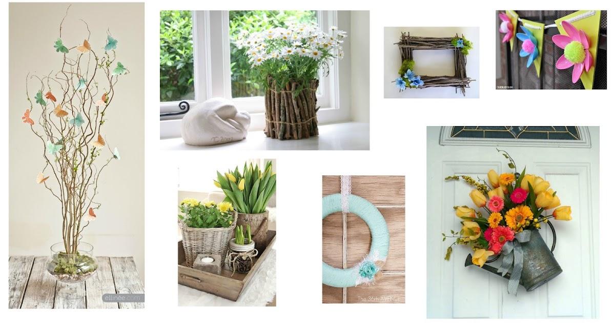 7 idee primaverili fai da te per decorare casa col riciclo for Oggetti fai da te per arredare casa