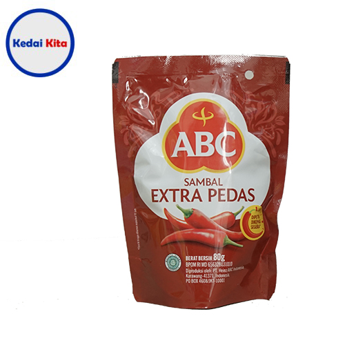 Saus ABC Sambal Extra Pedas 80 Gram