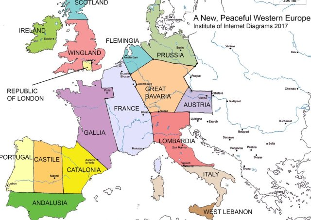 <strong>LAS FRONTERAS DE EUROPA...</strong>