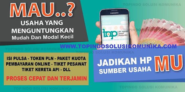 Topindo Reload Grosir Pulsa Elektrik Murah Jakarta