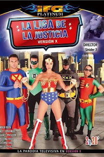Justice League : La liga de la justicia parodia X