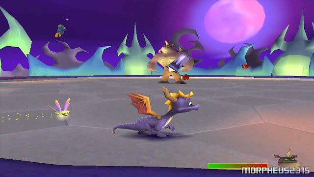 Juego de Spyro para consola PlayStation One