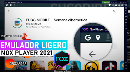 Descargar Nox Player 2021 Ultima Version Español, Emulador Android
