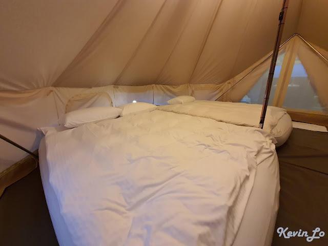 拉波波村營區加大雙人氣墊床