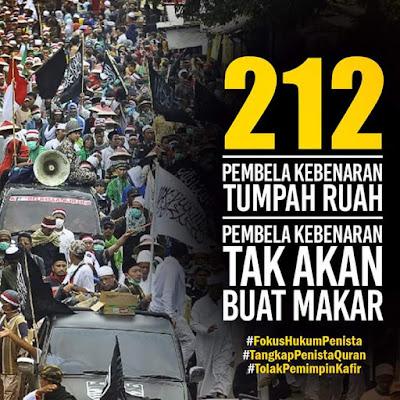 Aksi Damai Bela Islam Jilid III di jakarta