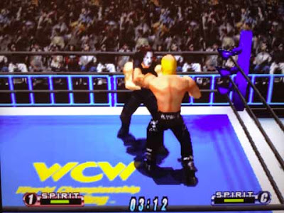 Hollywood Hogan e Sting in ''Virtual Pro Wrestling 64''