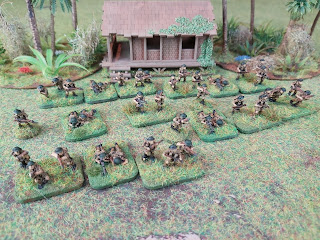 15mm British infantry for the defence of Malaya