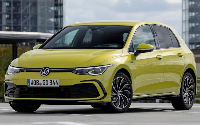 Novo VW Golf Mk8 2021 eTSI