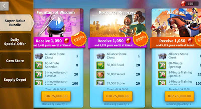 apa itu p2w f2p rise of kingdoms