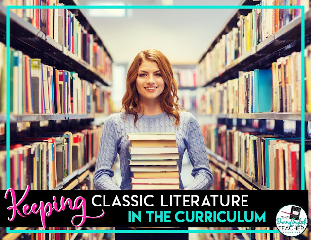 Keeping Classic Lit in the Curriculum
