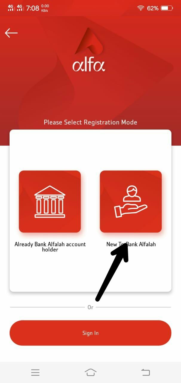 Alfa app new voucher code: Install Alfa app apk and get 250