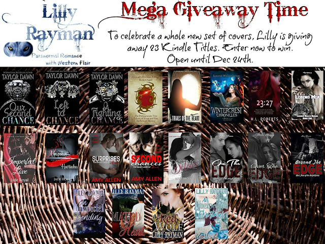 Lilly Rayman's Mega Giveaway on Facebook