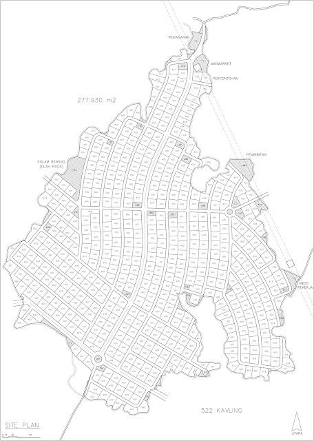 Site Plan Kebun