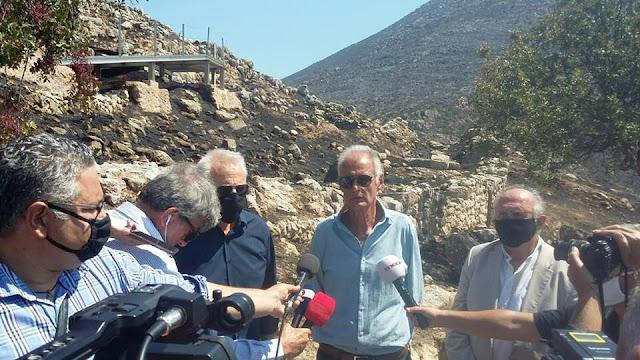 Γκιόλας: Πόρισμα καταπέλτης για την πυρκαγιά στον αρχαιολογικό χώρο Μυκηνών – Θα αποδοθούν επιτέλους ευθύνες;