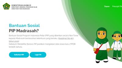 Surat Edaran Pencairan Bantuan Sosial PIP Tahap IV Jenjang MI dan MA Tahun Anggaran 2020