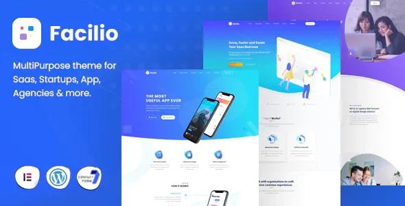 Best MultiPurpose WordPress Theme for Saas Startup