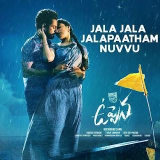 Jala Jala Jalapaatham Nuvvu Lyrics in English – Uppena
