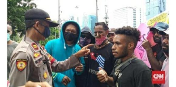 Gagal Demo di Istana, Mahasiswa Papua Teriakkan Referendum