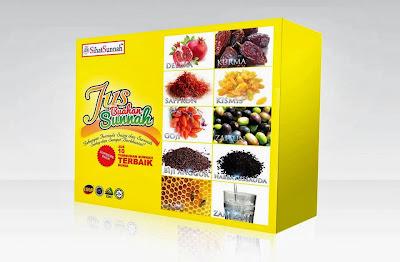 produk sihat sunnah, packaging, design packaging, print kotak, design kotak,