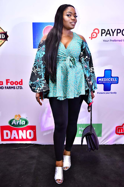 Photos: Tboss, Bisola, Debby Rise, Gifty, Soma, Coco Ice, Bassey, Kemen, Daddy Showkey, Olumide Owuru at the live viewing of Big Brother Naija Season 3