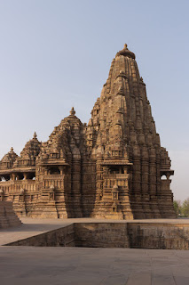 temple at Khajuraho Madhya Pradesh India