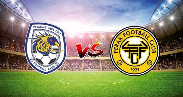 Live Streaming PJ City FC vs Perak FC 5.5.2021 Liga Super